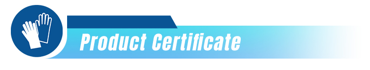 Gloves-Product Certificate